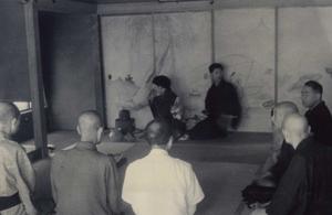 昭和35年9月14日 献茶 (場所:光徳寺)