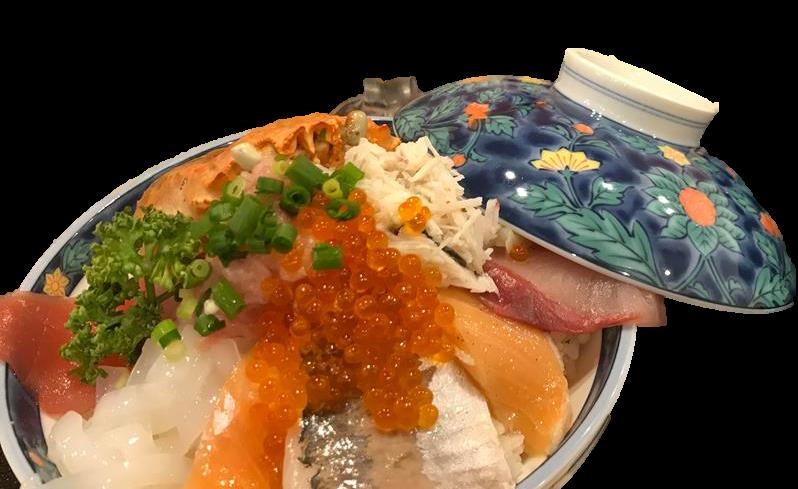 《縁むすび処 時々(TokiToki)》海鮮丼 小丸山城